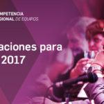 Postulaciones para integrar el jurado de la Competencia Regional de Equipos 2017