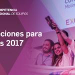 Competencia Regional de Equipos 2017 | Inscripción de equipos