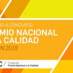 PREMIO NACIONAL A LA CALIDAD Edición 2018