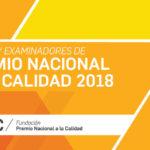 Jueces y examinadores Premio Nacional a la Calidad 2018
