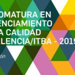 Diplomatura en Gerenciamiento de la Calidad EXCELENCIA/ITBA – 2019